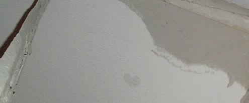 Lekkage op muur